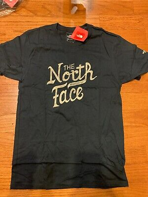 North Face Men's Grown Tee Shirt XL Cosmic Blue