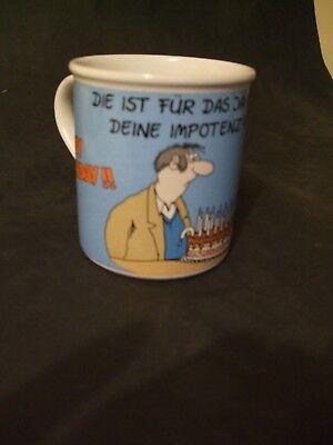 Uli Stein  Kaffeetasse