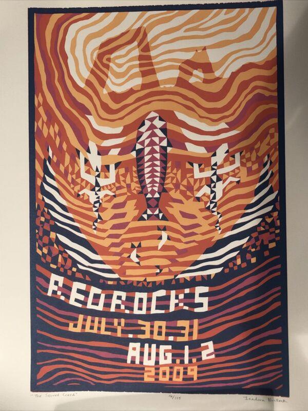 Phish Poster Art Red Rocks 2009