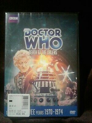 Doctor Who: Death to the Daleks (Story 72) dvd new sealed Free shipping!!