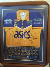 Parramatta Eels signed jersey framed Mosman Mosman Area Preview