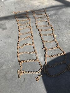 Good used heavy duty pickup tire chains