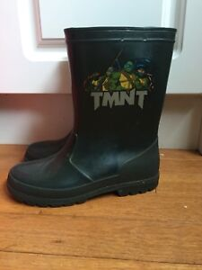 Rain boots teenage mutant ninja turtles