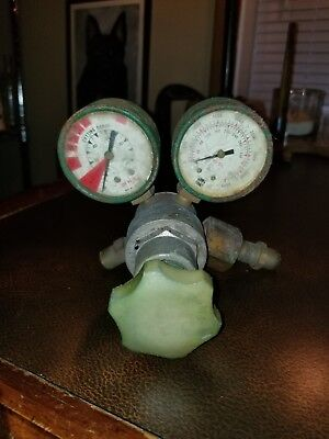 Usg Oxygen Acetylene Welding Regulator Valves Gauges Gages Steampunk