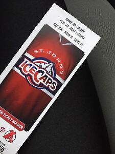 1 ice cap ticket for sale! Feb 24/2017
