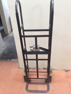 Heavy duty 300kg stair trolley with strap
