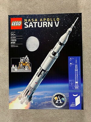 Lego Ideas 21309 NASA Saturn V Rocket set - Brand New - Factory Sealed - Retired