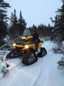 Bombardier Can-Am Apache ATV Bike tracks