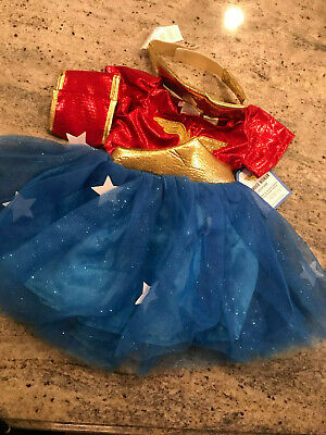 Pottery Barn Kids Toddler WONDER WOMAN™ Costume 3T Halloween NEW