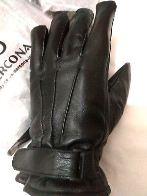 Real Thermal (REAL LEATHER GLOVES THERMAL LINED SUPPER SOFT WARM WINTER DRIVING Xmas WOMEN MEN)