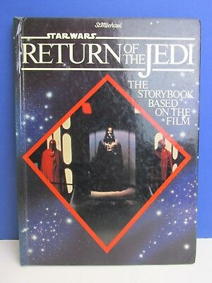 star wars VINTAGE return of the jedi STORY ANNUAL BOOK ROTJ 1983 00i