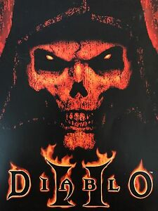 Diablo 2 and expansion set with strategy guide for PC