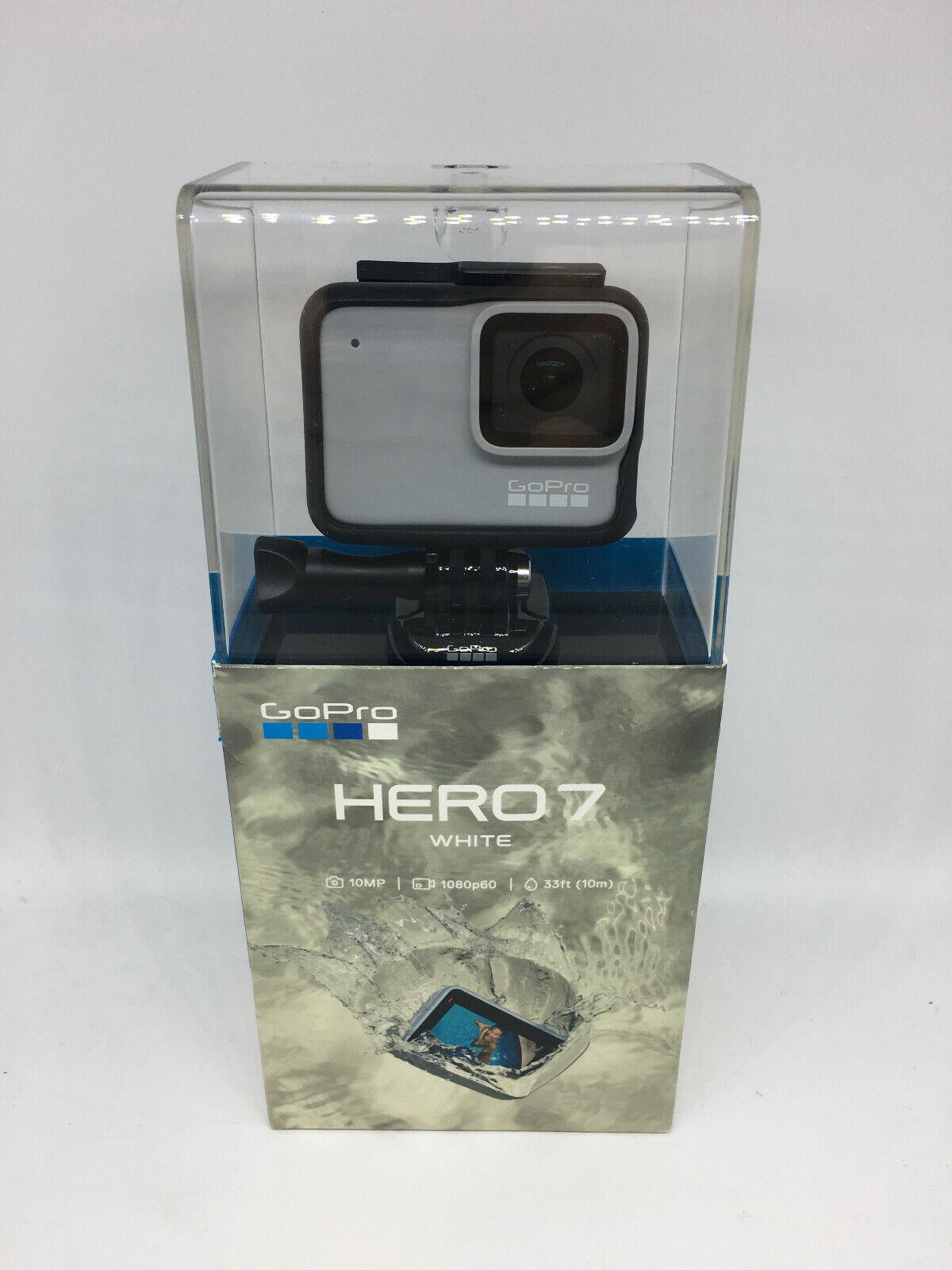 Brand New GoPro HERO7 Waterproof Digital Action Camera - Whi