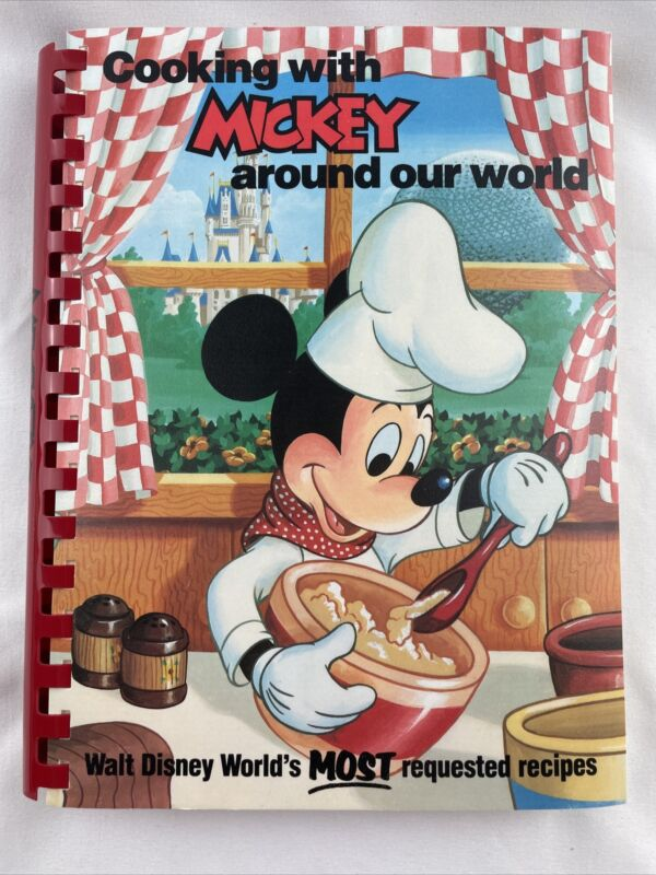 Cooking with Mickey Around Our World 1986 Disney World