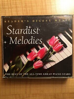Reader's Digest Stardust Melodies the Best of the All-Time Piano Stars 4 CD