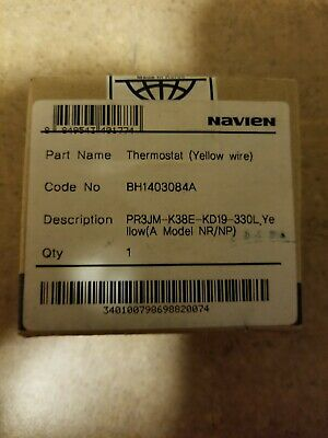 Brand new Navien Tank Less Hot Water Heater Thermostat (Yellow Wire)