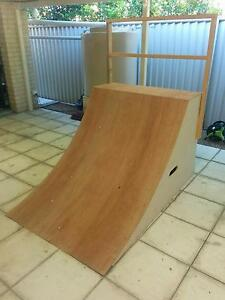 Skate Ramp Quarter Pipe Brand New - Quarterpipe on Wheels Casters Wakerley Brisbane South East Preview