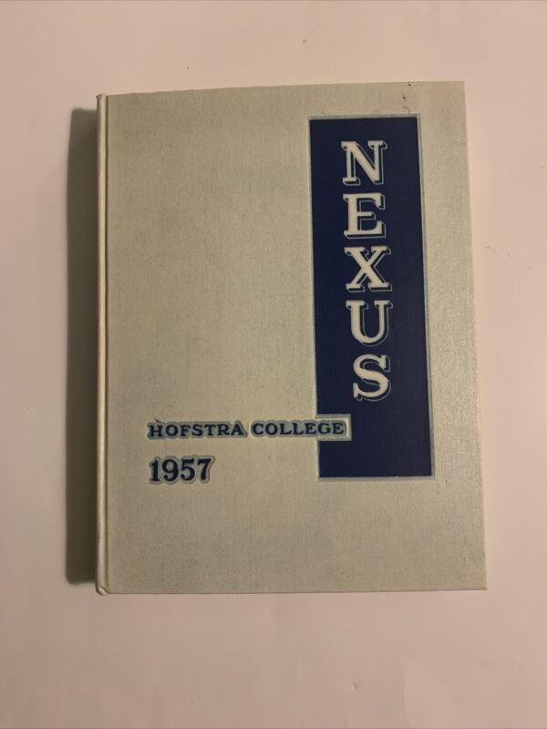 Hofstra College University 1957 Nexus Yearbook Long Island New York History