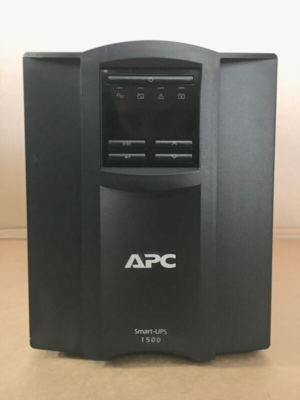 APC Smart UPS 1500 SMT1500 1500VA 120 UPS Battery Backup UPS No Battery Computer
