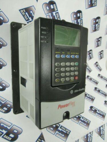 Allen Bradley PowerFlex-70 VFD Motor Drive, 2HP,  -TEST REPORT +WARRANTY -V66