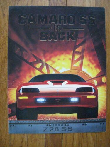1996 Chevrolet Camaro Z28 SS Brochure