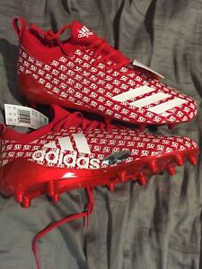 Two Men's Adidas 5-Star 7.0 Football Cleats