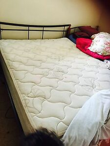 Queen bed and mattress Mackay Mackay City Preview