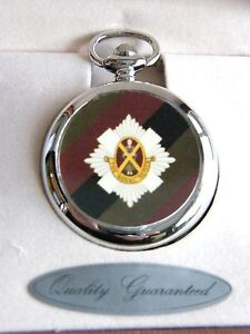 THE-ROYAL-SCOTS-BADGE-POCKET-WATCH-FREE-KEYRING-ARMY-MILITARY-GIFT-BOXED