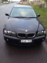 2002 BMW 318i Sedan Sunshine North Brimbank Area Preview