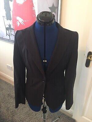 Ladies Pin Stripe Trouser Suit By Jesire Size 8