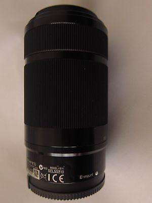 Mint Sony E 55-210mm F4.5-6.3 Lens SEL55210 for Cameras NEX-5 A6000 A5100 Black