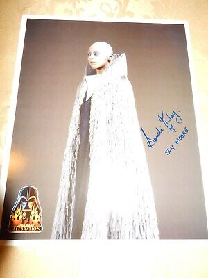 Sly Moore - Star Wars Original Signed Photo