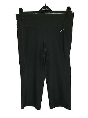 Women's NIKE Dri-Fit Running Gym Half Leggings Size U.K 8-10 for sale  Shipping to Nigeria