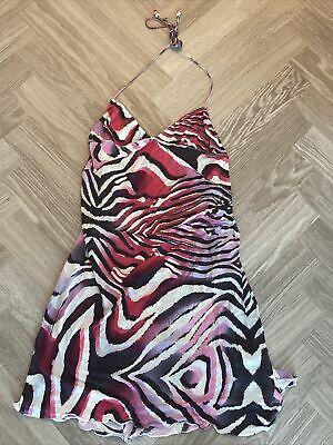 Just Cavalli Animal Print Beach Dress IT 42