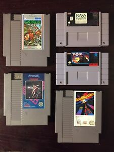 Nintendo (NES), Super Nintendo (SNES), GameCube items for sale