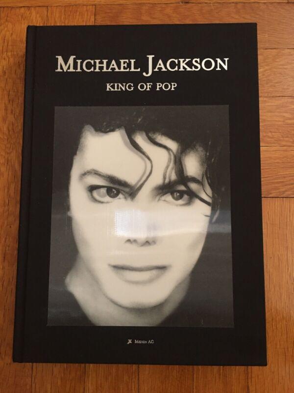 Limited Edition Mini Michael Jackson King of Pop Opus Hologram Book