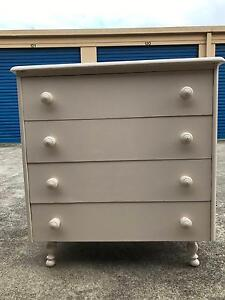 FREE DELIVERY! Solid wood Tallboy Chest Of Drawers Burgess Furni Greensborough Banyule Area Preview