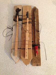 Vintage Primitive Ice Fishing Jigs, $25 for All 3