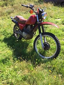 Street and trail for sale $1000