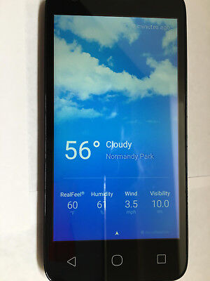 NEW Alcatel no qualifying cell phone with one months service