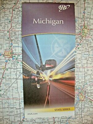 Michigan State Map - MICHIGAN STATE MAP Travel Road Street Map Tour Vacation Guide Roadmap '20 AAA MI