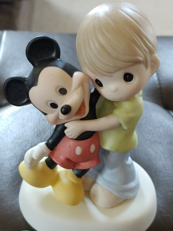 Precious Moments Disney Showcase You Are a Classic! 109007 Boy with Mickey
