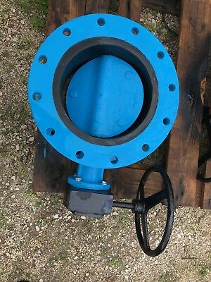 12 Flanged Butterfly Valve Milliken Actuator Hand Wheel