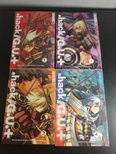Manga LOT .hack//G.U.+ vol.1~4  Set