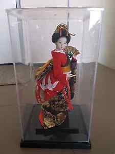 Porcelain Japanese kimono doll Maribyrnong Maribyrnong Area Preview