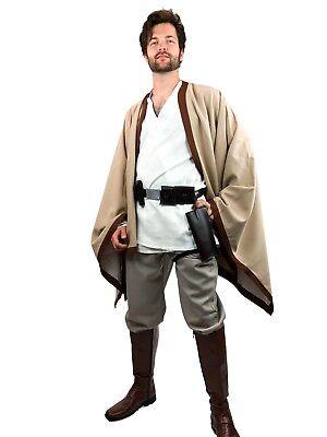 Luke Skywalker Cosplay (Star Wars A New Hope Luke Skywalker Cosplay Uniform Costume Tunic US)