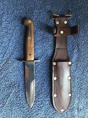 Vintage Aussie Bowie EK Knife Model WD-10 Effingham, IL Blackjack Knives USA