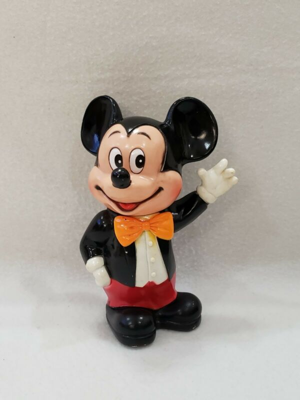 Vintage Plastic Mickey Mouse Coin Bank