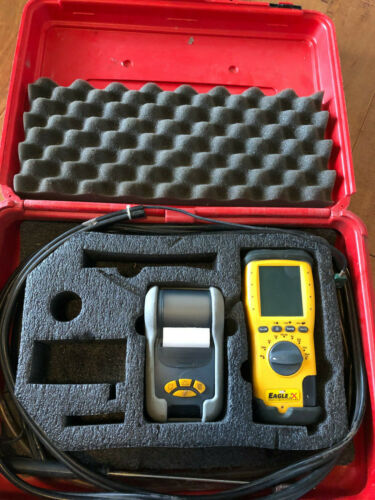 UEI C155 EAGLE 2x COMBUSTION ANALYZER With Printer and Probe