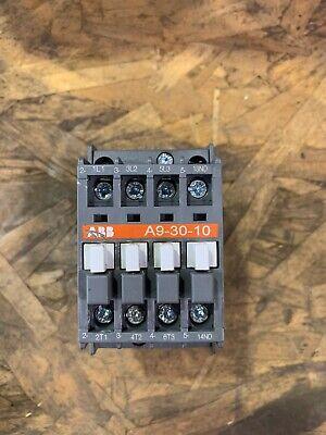 ABB A9-30-10 3P Contactor 26A 600V